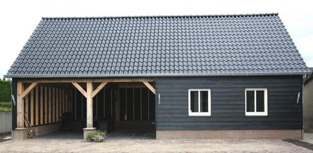 Bouwen Vlaamse schuur Ulvenhout