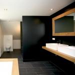 Renovatie badkamer boerderij Belgie