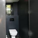 Renovatie toilet boerderij Belgie