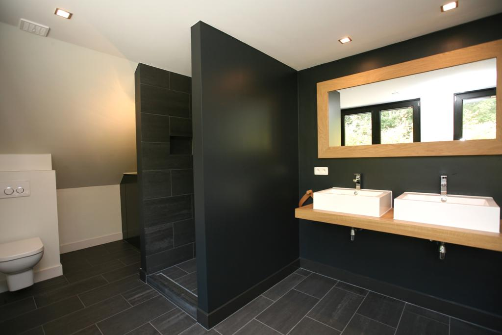 Glasplaat Douche Plaatsen ~ Renovatie badkamer boerderij Belgie